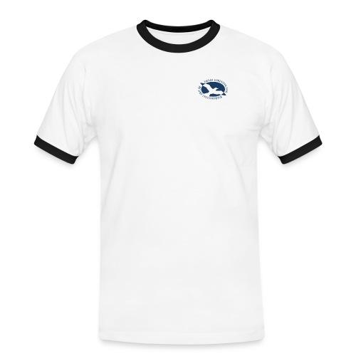 extra storlogo1 - Herre kontrast-T-shirt