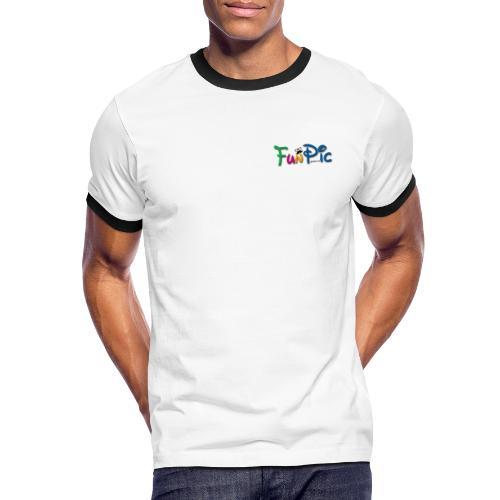 funpic - Männer Kontrast-T-Shirt