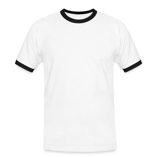 Klappe - Männer Kontrast-T-Shirt