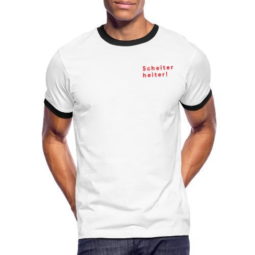 Improtheater Konstanz Print 1 - Männer Kontrast-T-Shirt