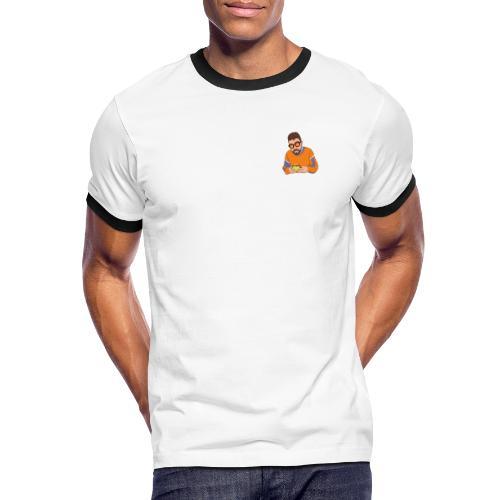 co_hamburger - Maglietta Contrast da uomo