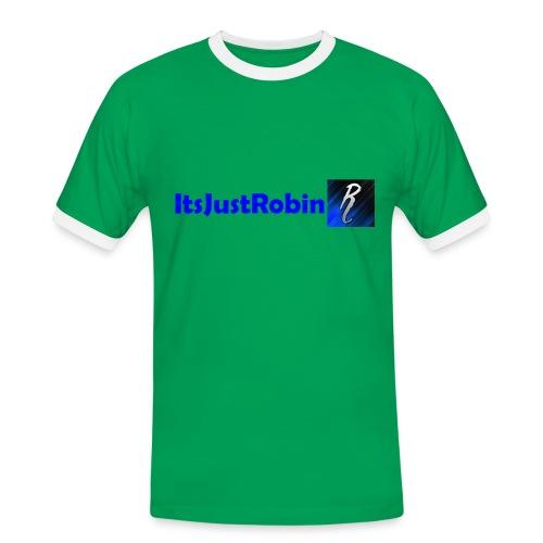 Eerste design. - Men's Ringer Shirt