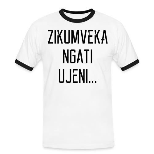 Zikumveka Ngati Black - Men's Ringer Shirt