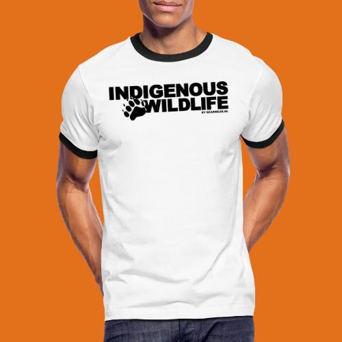 indigenous wildlife new - Men's Ringer Shirt