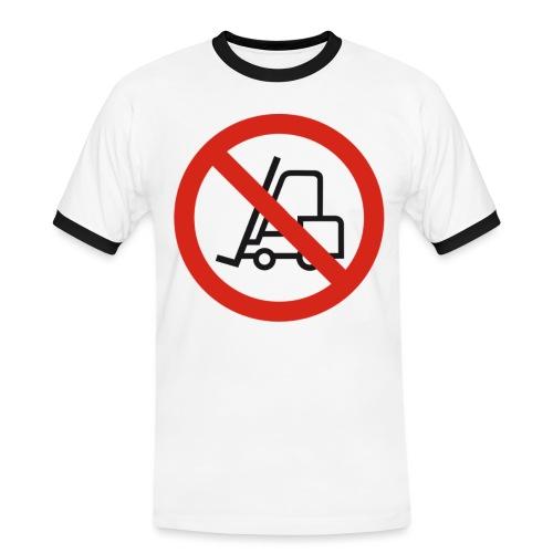 Stapler Crew Stagehand - Männer Kontrast-T-Shirt
