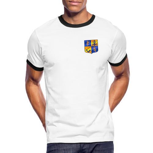Swedish Viking - Kontrast-T-shirt herr