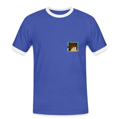 Merch2 png - Männer Kontrast-T-Shirt