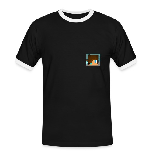 Merch2 png - Männer Kontrast-T-Shirt