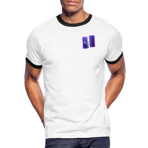 N-DER Cyber - T-shirt contrasté Homme
