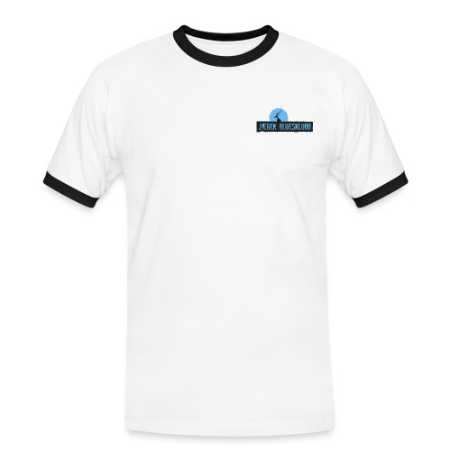 Logo jæren bluesklubb 500px png - Kontrast-T-skjorte for menn