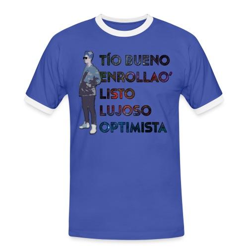 Camiseta Tello Cumple - Camiseta contraste hombre