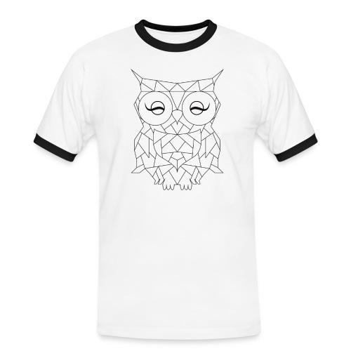 Geometric OWL - T-shirt contrasté Homme