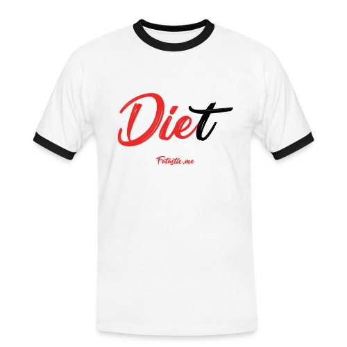Diet by Fatastic.me - Men's Ringer Shirt