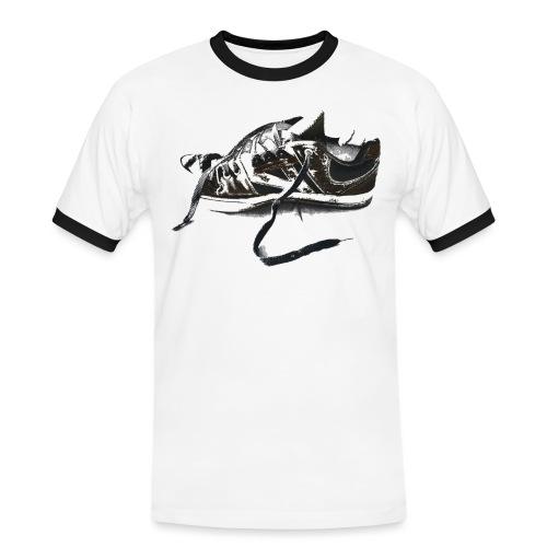 shoe (Saw) - Men's Ringer Shirt