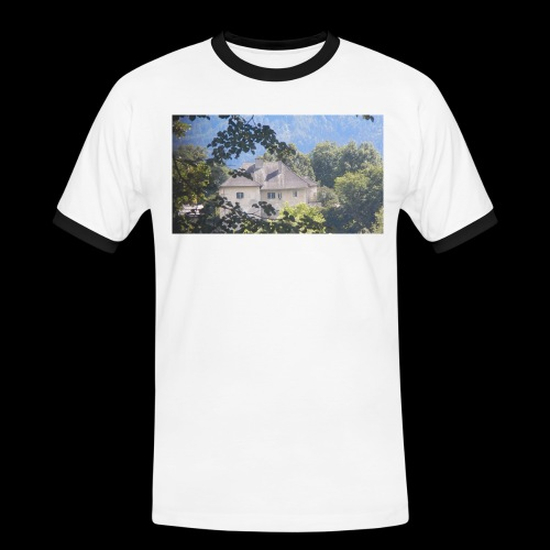 Altes Haus Vintage - Männer Kontrast-T-Shirt