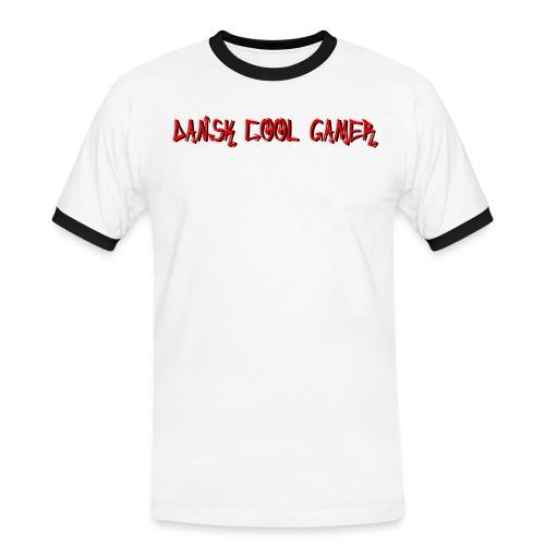 Dansk cool Gamer - Herre kontrast-T-shirt