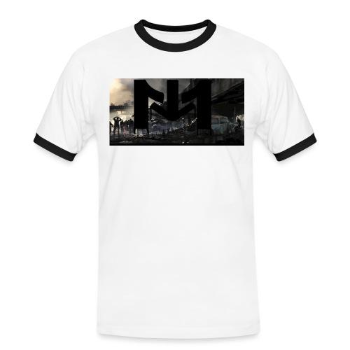 Mousta Zombie - T-shirt contrasté Homme