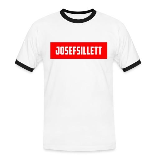Josef Sillett Red - Men's Ringer Shirt