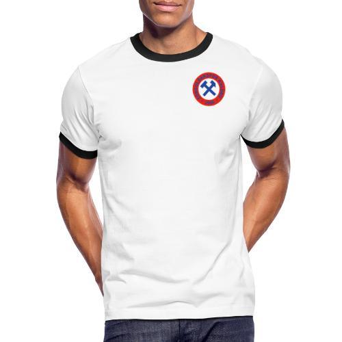 Zonguldakspor png - Männer Kontrast-T-Shirt