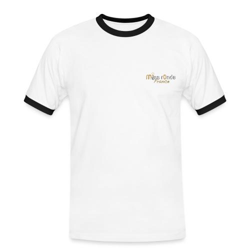 logoMRF transparent or et argent 1 png - T-shirt contrasté Homme
