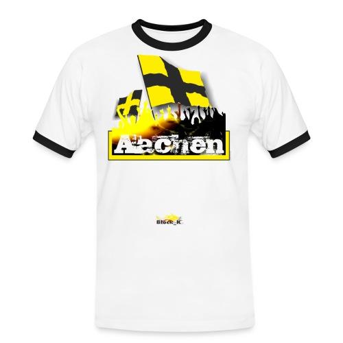 aachen all4one - Männer Kontrast-T-Shirt