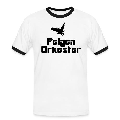 t skjorte sortlogo png - Kontrast-T-skjorte for menn
