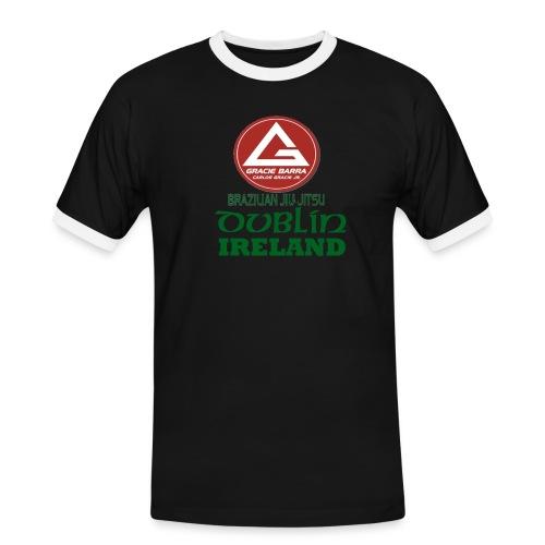 Gracie Barra Dublin Gaelic Celtic Font PNG - Men's Ringer Shirt