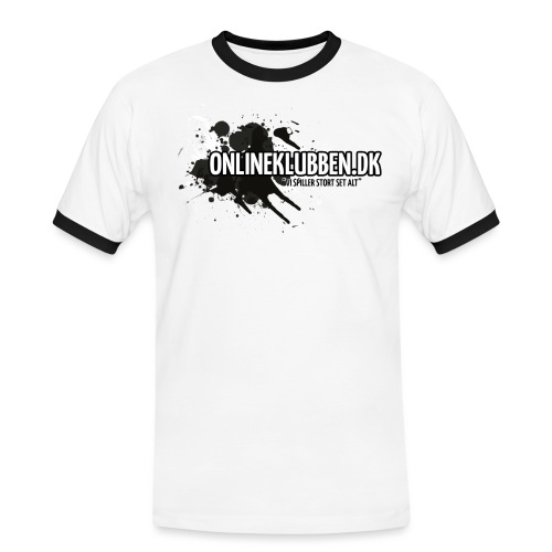 SPLASH OK png - Herre kontrast-T-shirt