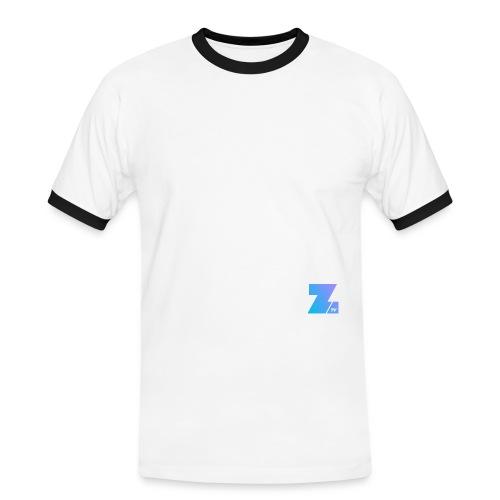4658 2CSmall logo upload - Men's Ringer Shirt