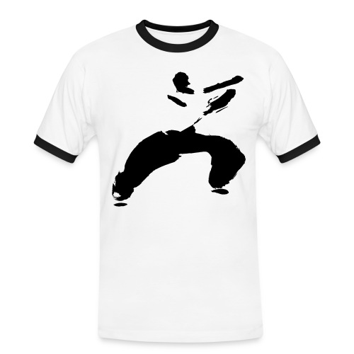 kung fu - Men's Ringer Shirt