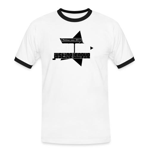 justice - Kontrast-T-shirt herr