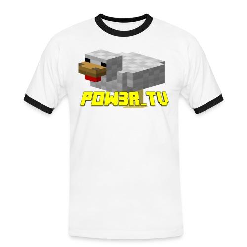 POW3R-IMMAGINE - Maglietta Contrast da uomo