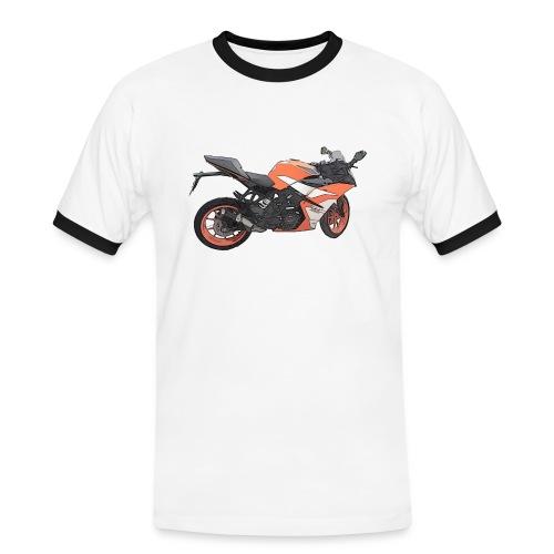 T-shirt Moto - T-shirt contrasté Homme