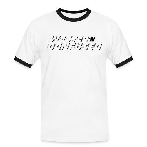 OFFICIAL WNC MERCHANDISE (wit) - Mannen contrastshirt