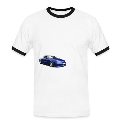 calibra big wheels - Männer Kontrast-T-Shirt