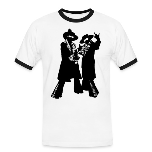 donenadcontour - Mannen contrastshirt