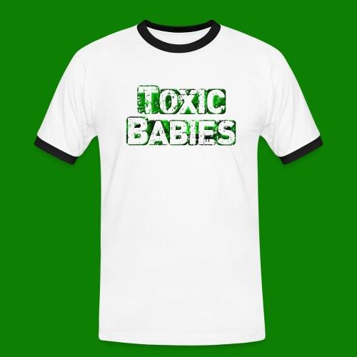 logo toxic grand - T-shirt contrasté Homme