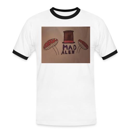 Mad Alex Logo - Men's Ringer Shirt