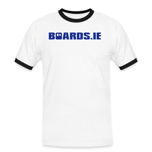 Boards ie Text - Men's Ringer Shirt