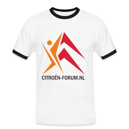 logo cfnl groot 120dpi - Mannen contrastshirt