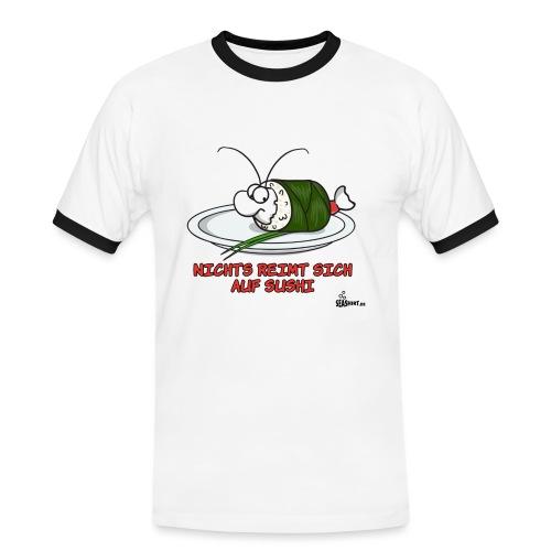 sushireim - Männer Kontrast-T-Shirt