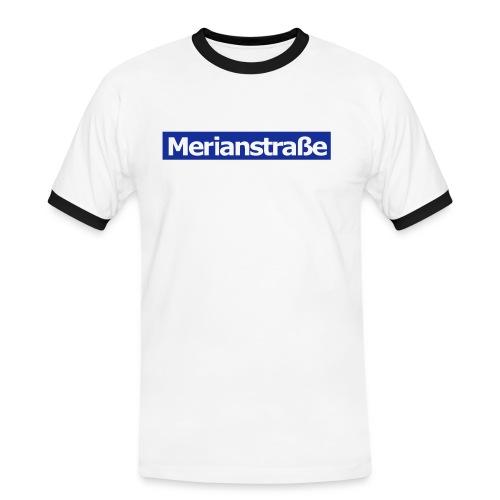 Merianstraße - Das Buch - Männer Kontrast-T-Shirt