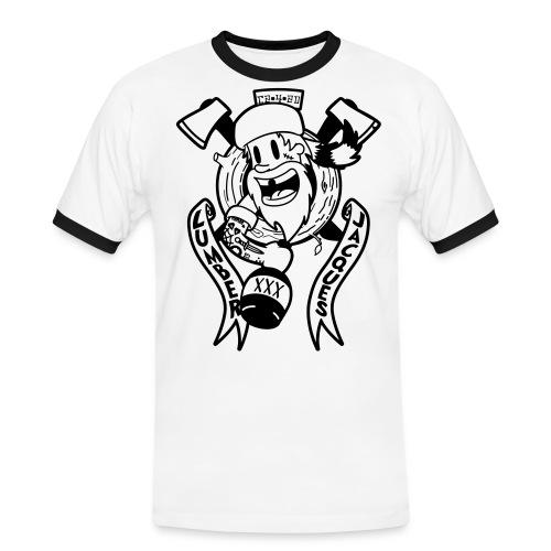 Lumber Jacques - T-shirt contrasté Homme