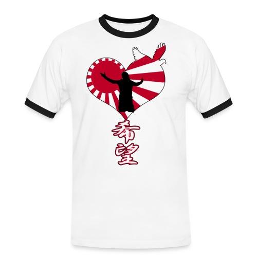 japon_hope - T-shirt contrasté Homme