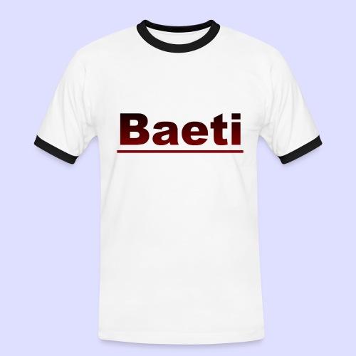 Baeti - Mannen contrastshirt