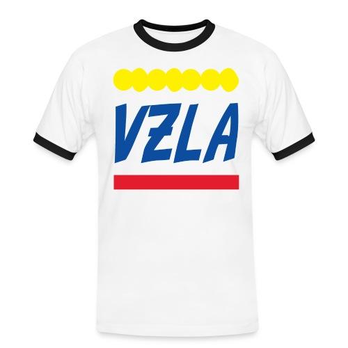 vzla 01 - Camiseta contraste hombre