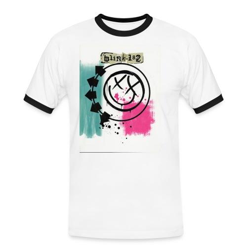 blink3 - Maglietta Contrast da uomo