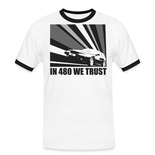 In 480 we trust - T-shirt contrasté Homme