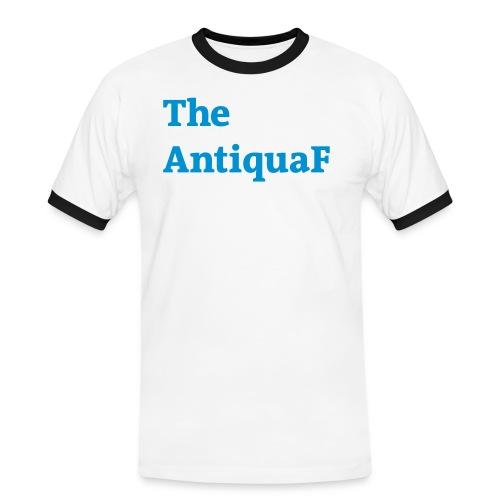 the antiquaf blau - Männer Kontrast-T-Shirt