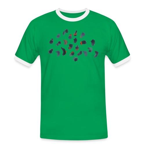 Hc Kurtz - Vanishing. - T-shirt contrasté Homme